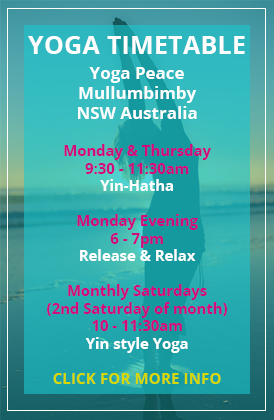 Yoga Timetable | Aesha Kennedy