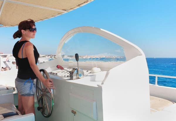 sail rather than row